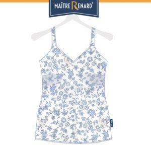 caracos-voile-de-coton-motifs-hirondelles-bleues-et-fleurs