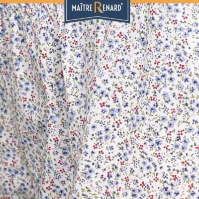 caleçon femme short femme liberty bleu popeline de coton