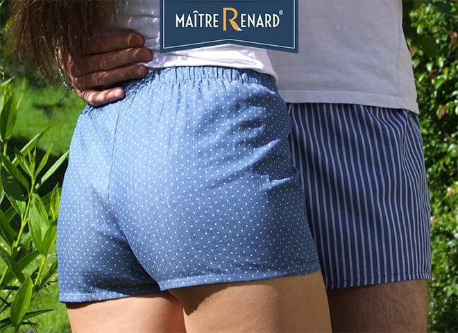 Marché Ars en Ré - Caleçons Maître Renard ®