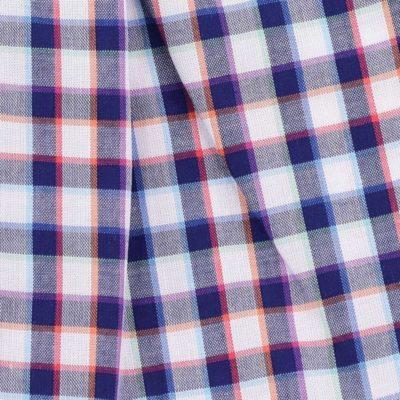 Caleçon homme classique coupe française écossais multicolor