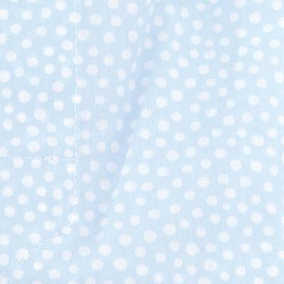 Caleçon homme classique coupe française 100% coton popeline motifs pois ciel