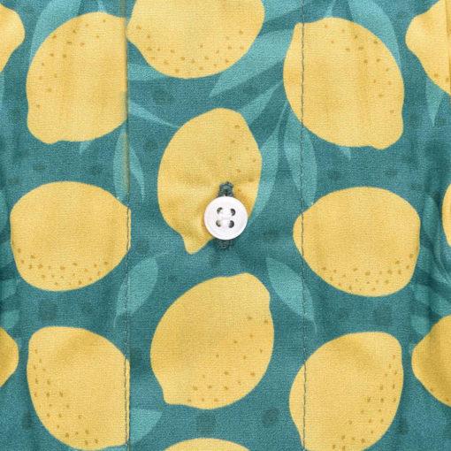Caleçon homme en coton imprimé citron. Caleçon fruit en coton. Caleçon rigolo et fantaisie et surtout de qualité. Bon rapport qualité prix