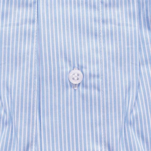 Caleçon homme rayure bleu en coton. Caleçon forme classique coupe française rayé de couleur bleu
