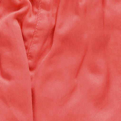 caleçon femme satin de coton uni rouge