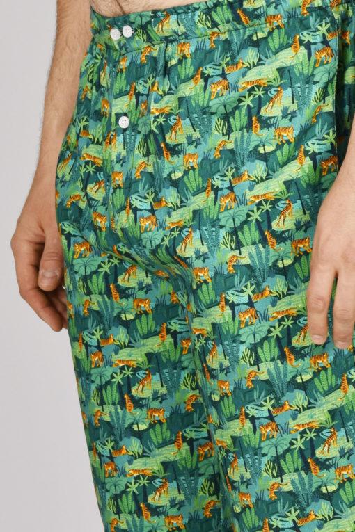 bas de pyjama homme tigre