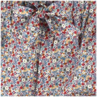 Pyjama satin de coton fleurs liberty