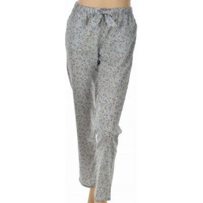 bas de pyjama en coton fleurs